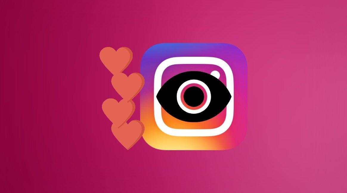 Instagram gostos e privacidade