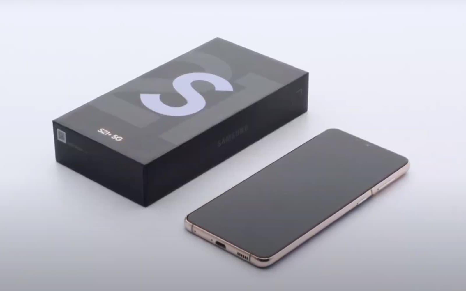 Samsung caixa S21