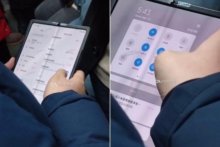 Dispositivo dobrável da Xiaomi