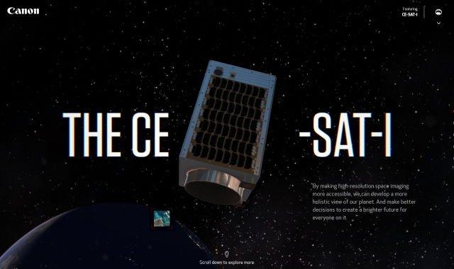 Canon site de satelite