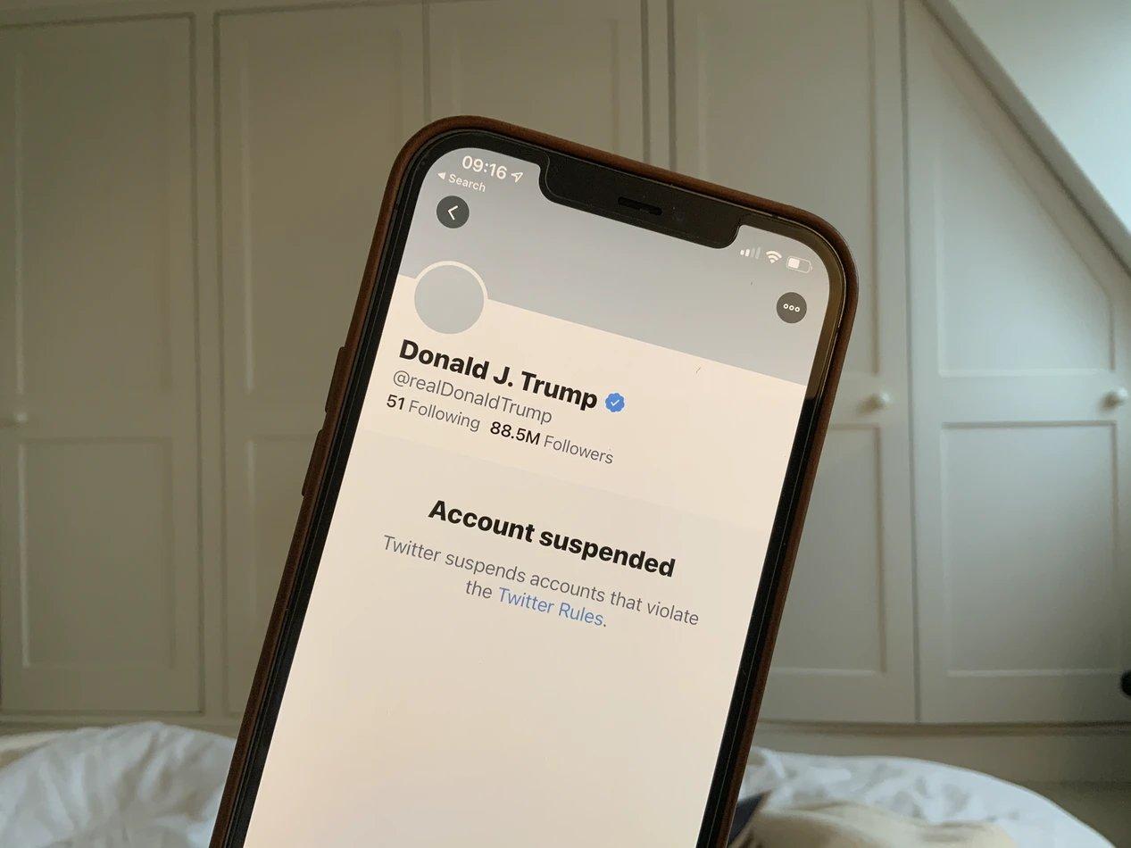 Twitter e conta de donald trump
