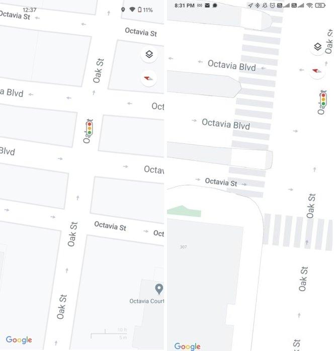 exemplo de mapas google