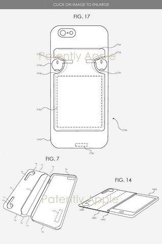 capa iPhone da apple patente