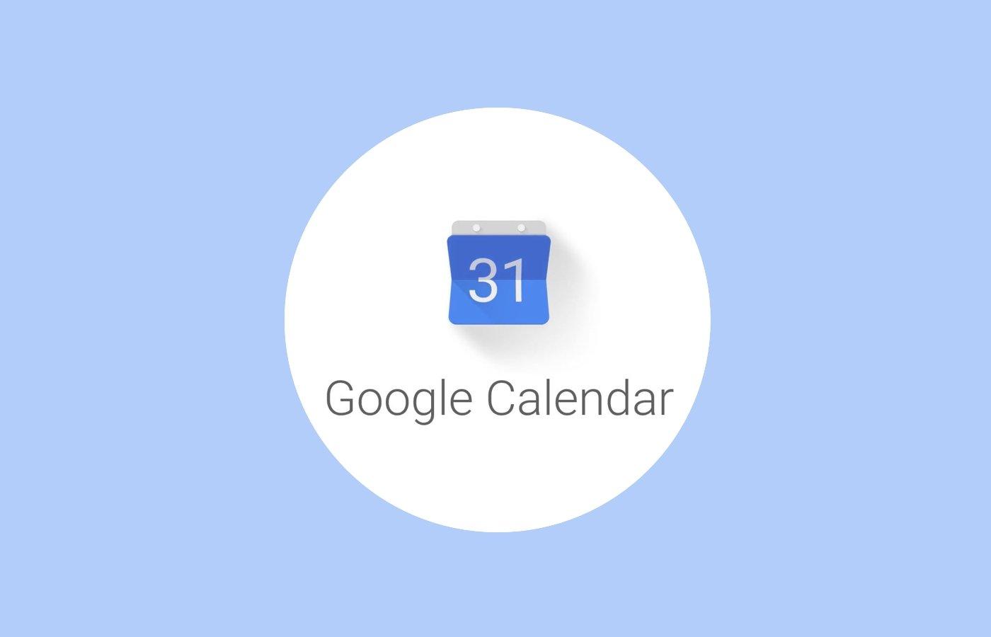 Calendário da Google