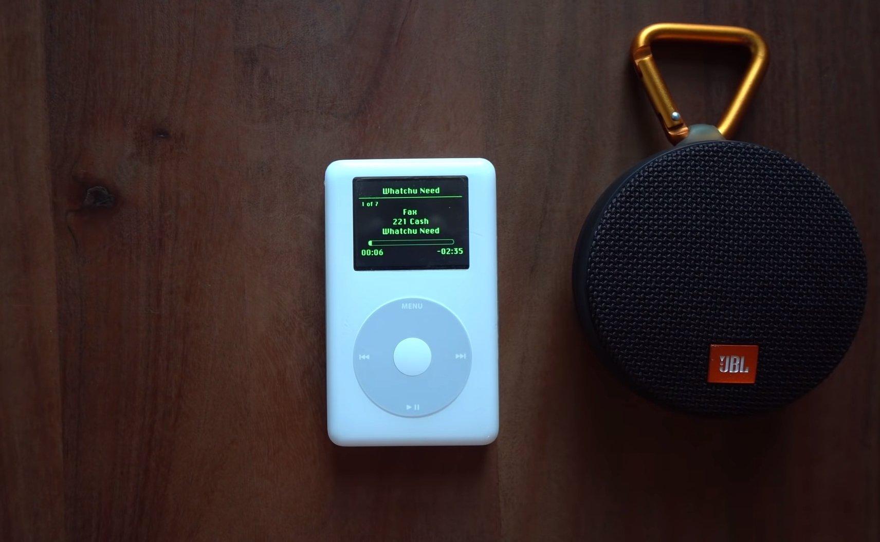 iPod com spotify