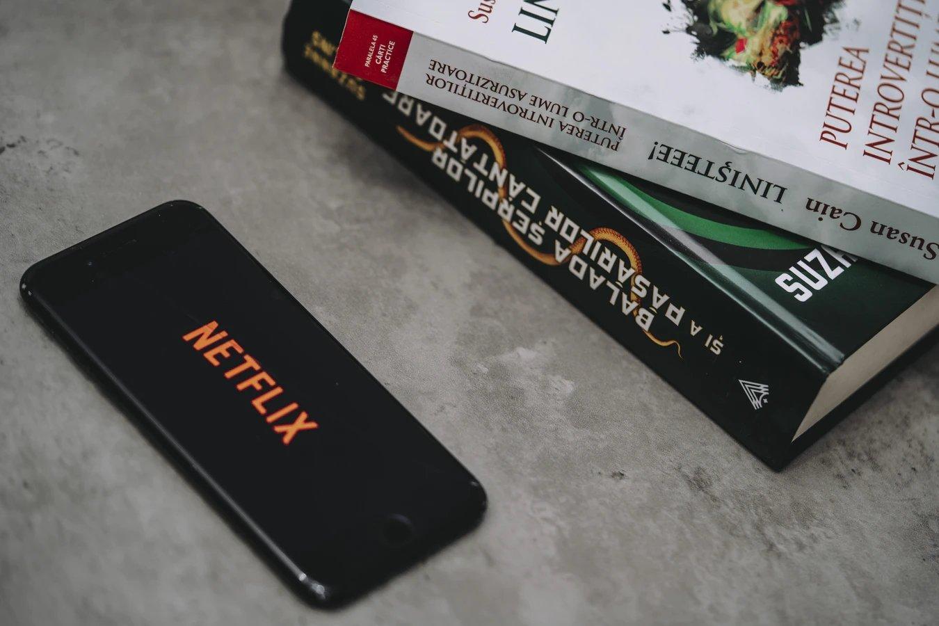 Netflix sobre iPhone