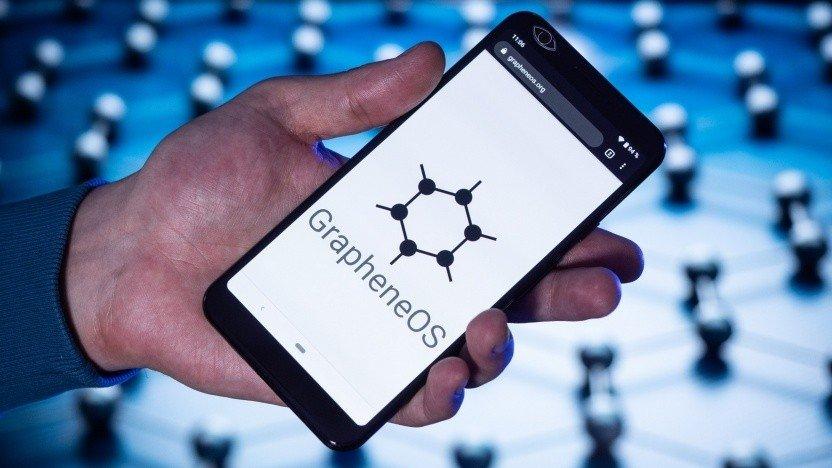 GrapheneOS smartphone