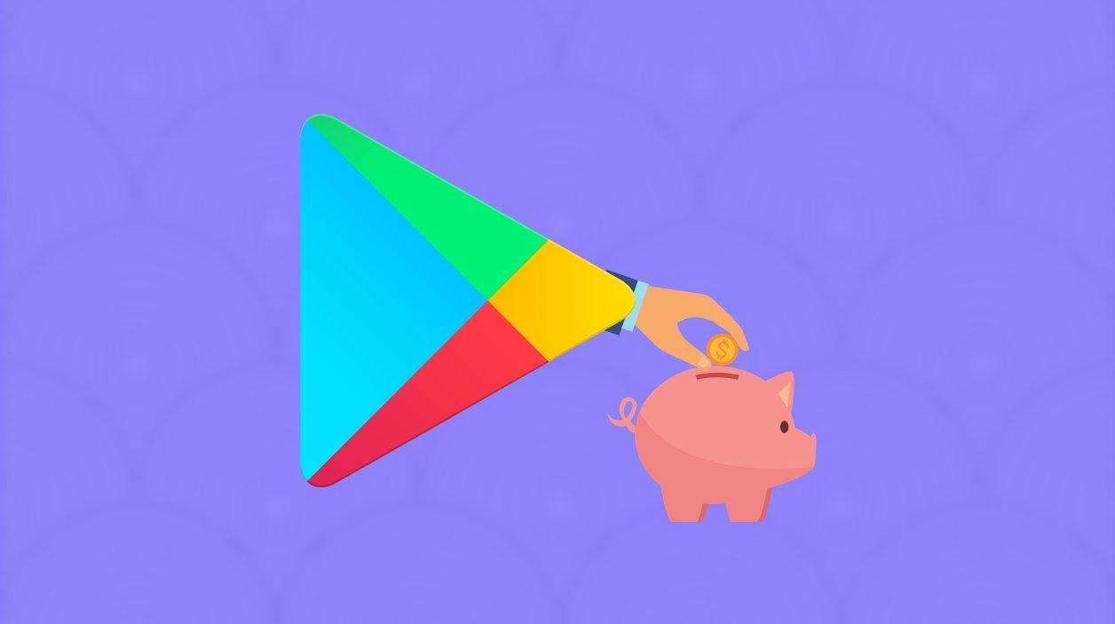 Google play store poupança