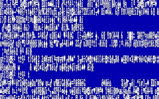 ecrã azul no windows 1