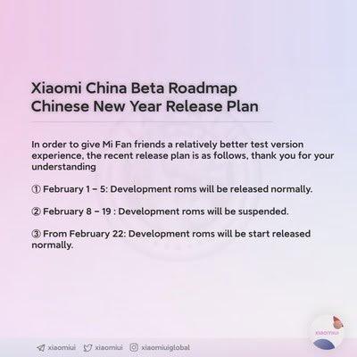MIUI 12.5 desenvolvimento calendário