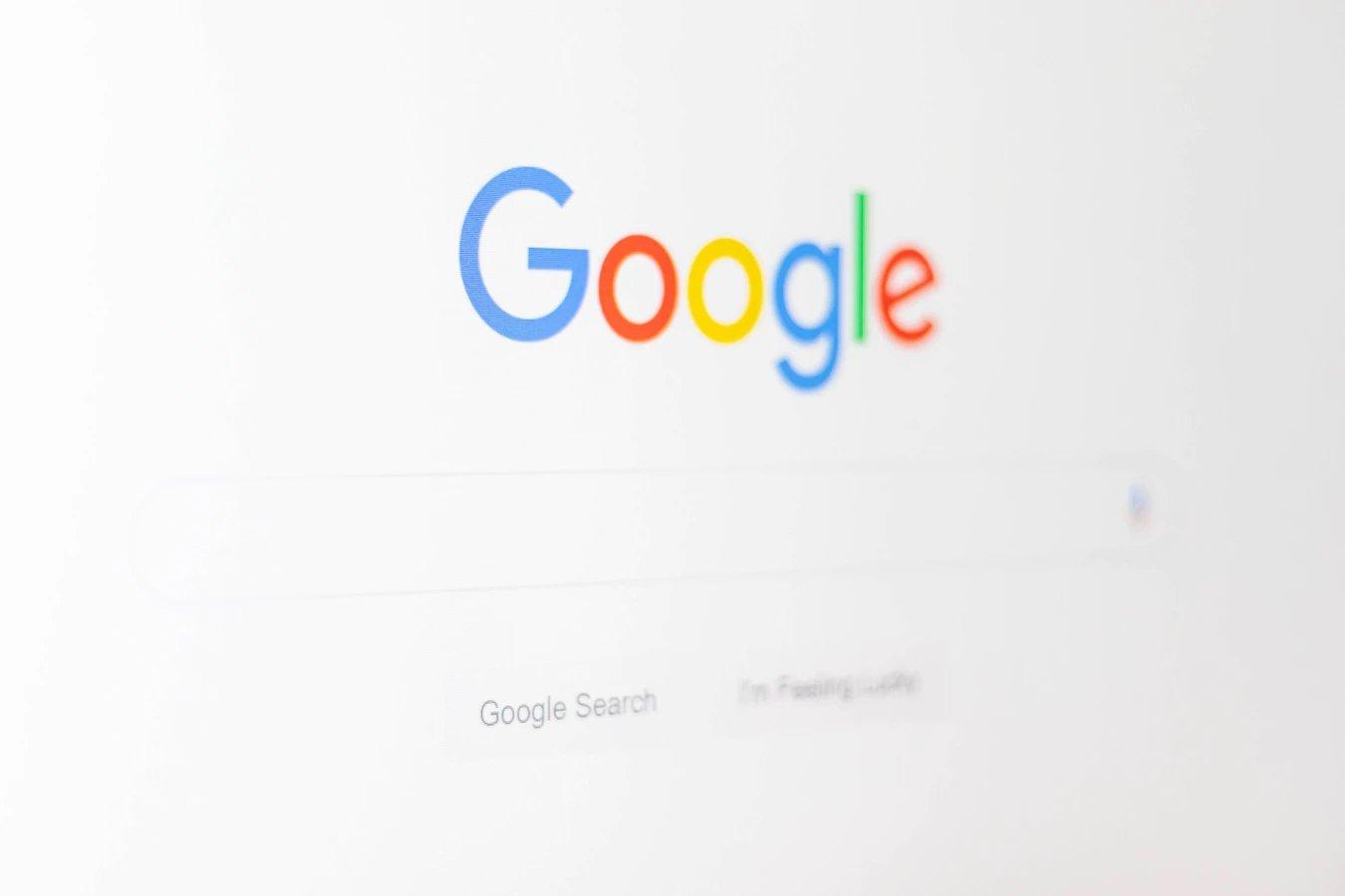 Google pesquisa site inicial
