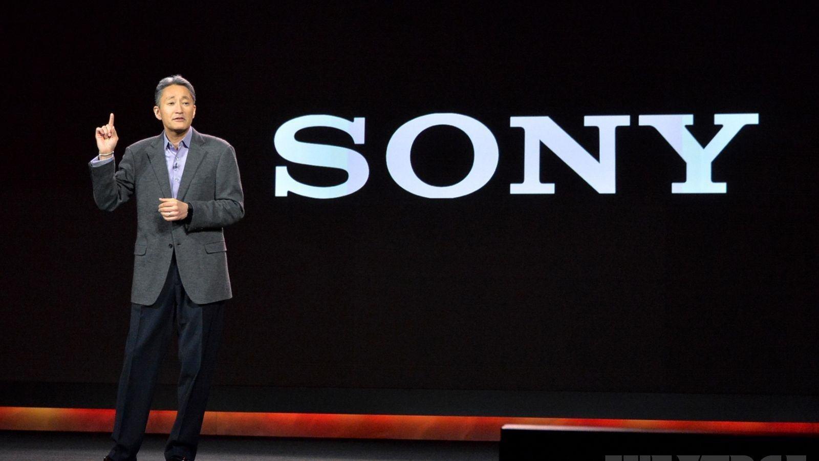 Sony logo CEO
