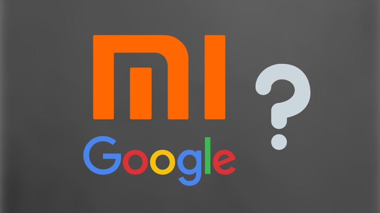 Xiaomi e Google