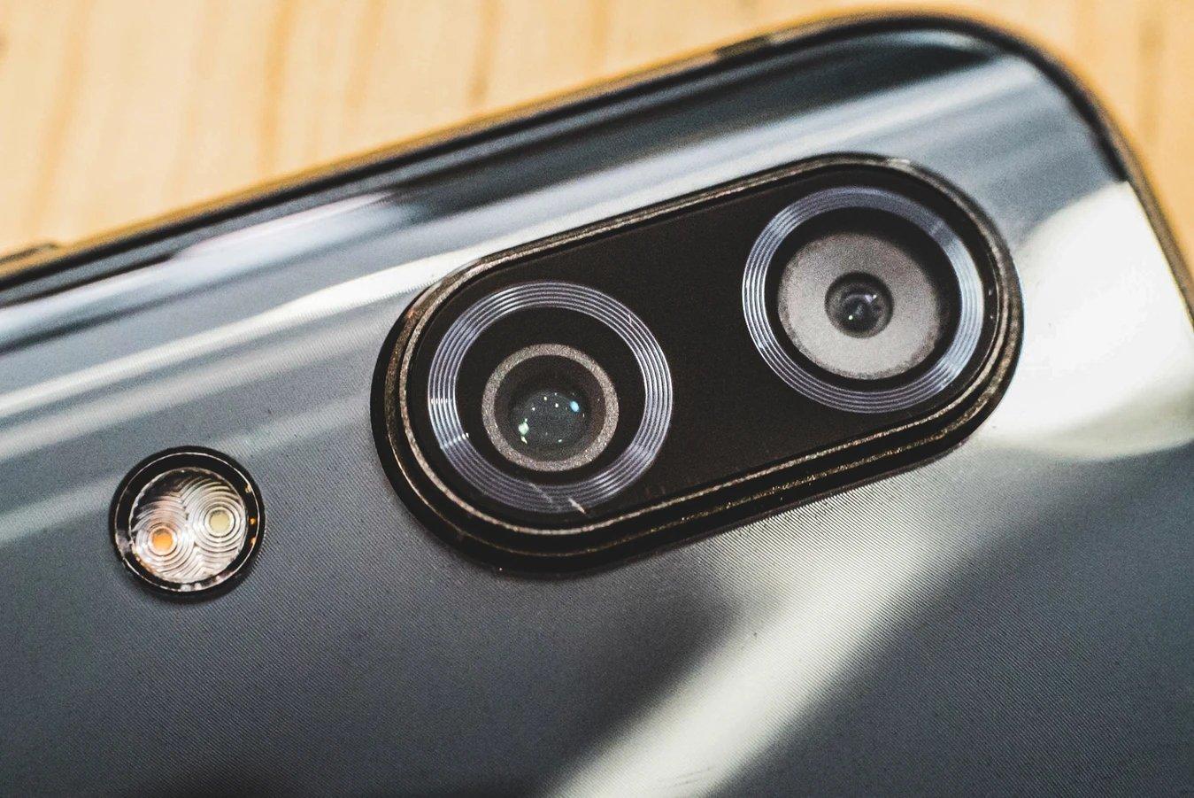 câmara em smartphone