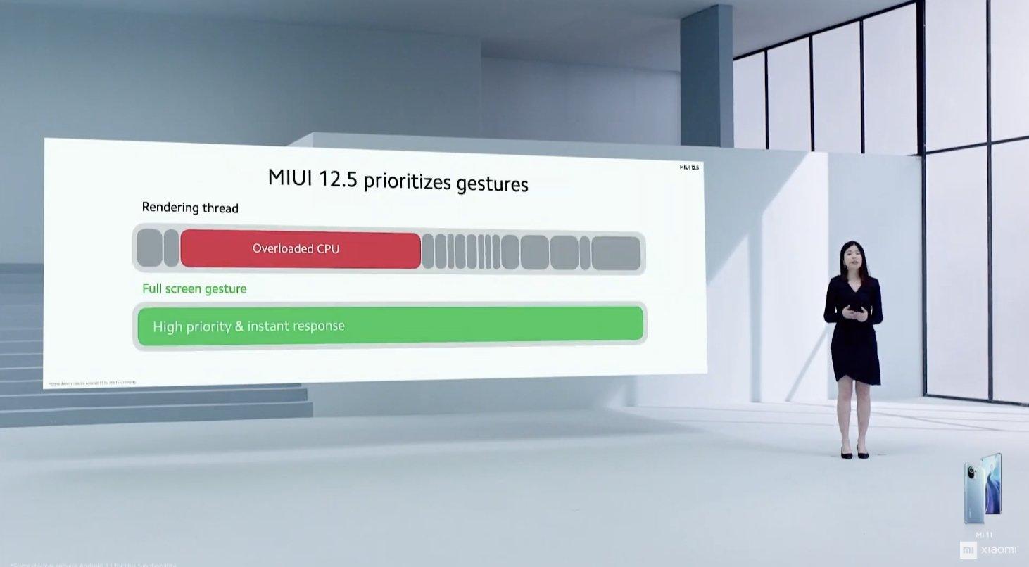 melhorias de desempenho na MIUI