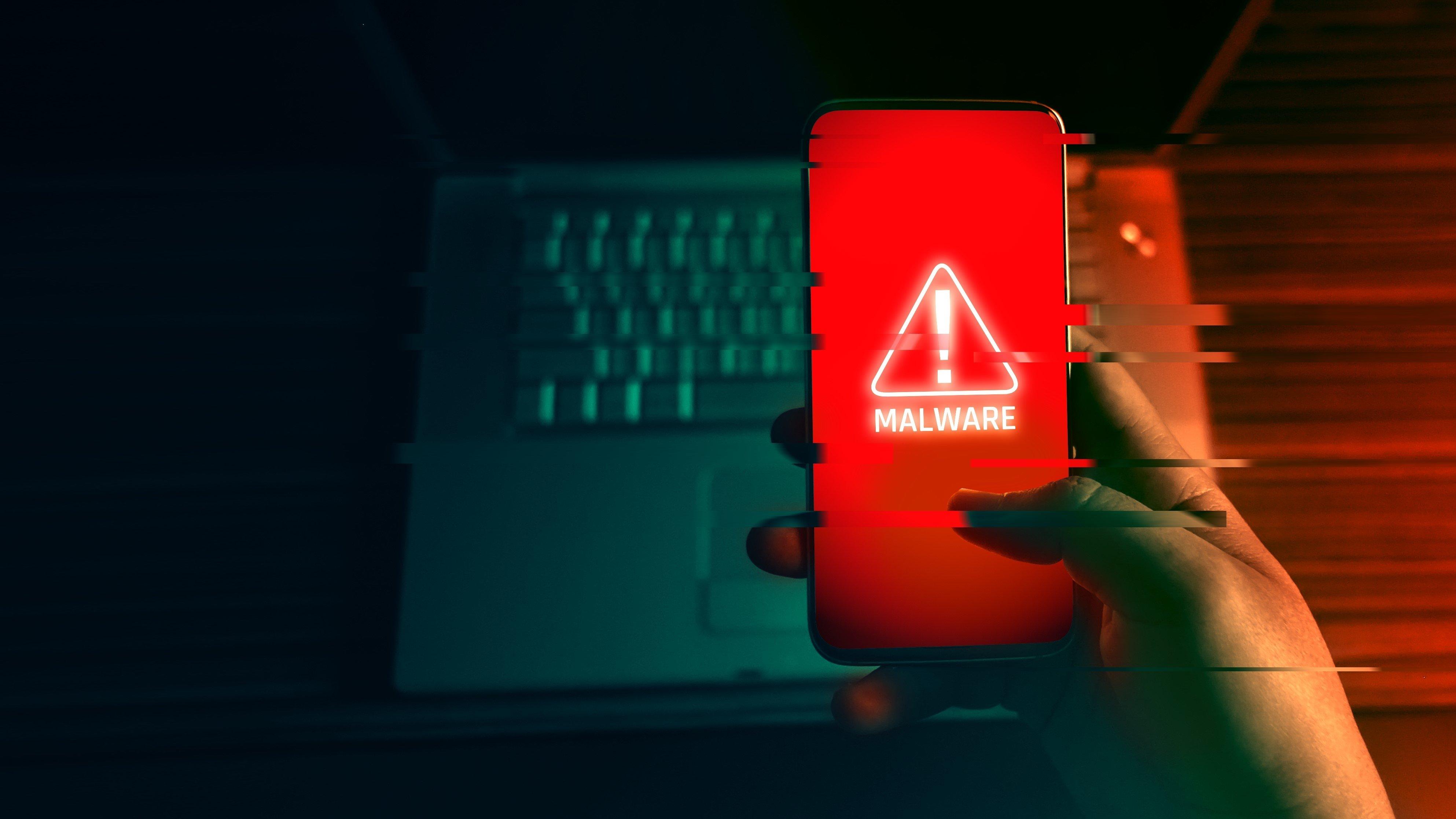 malware em Android smartphone
