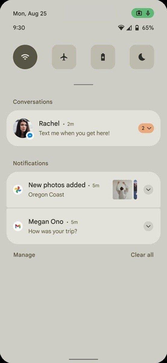 novo design Android 12