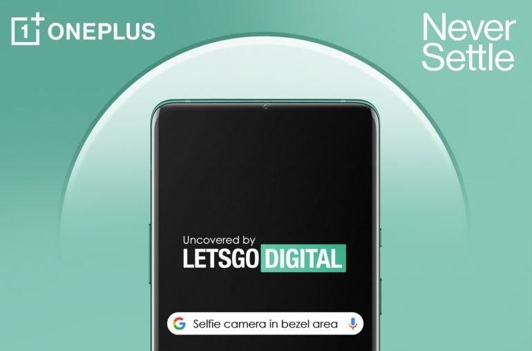 imagem da câmara OnePlus frontal