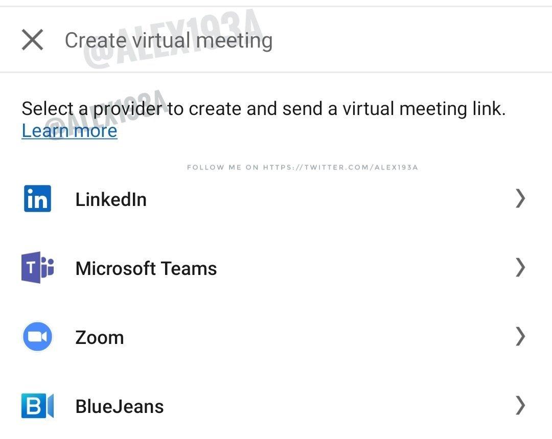 linkedin reuniões virtuais