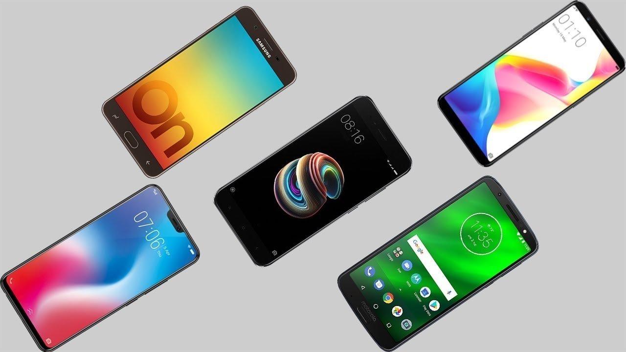 Smartphones de marcas chinesas