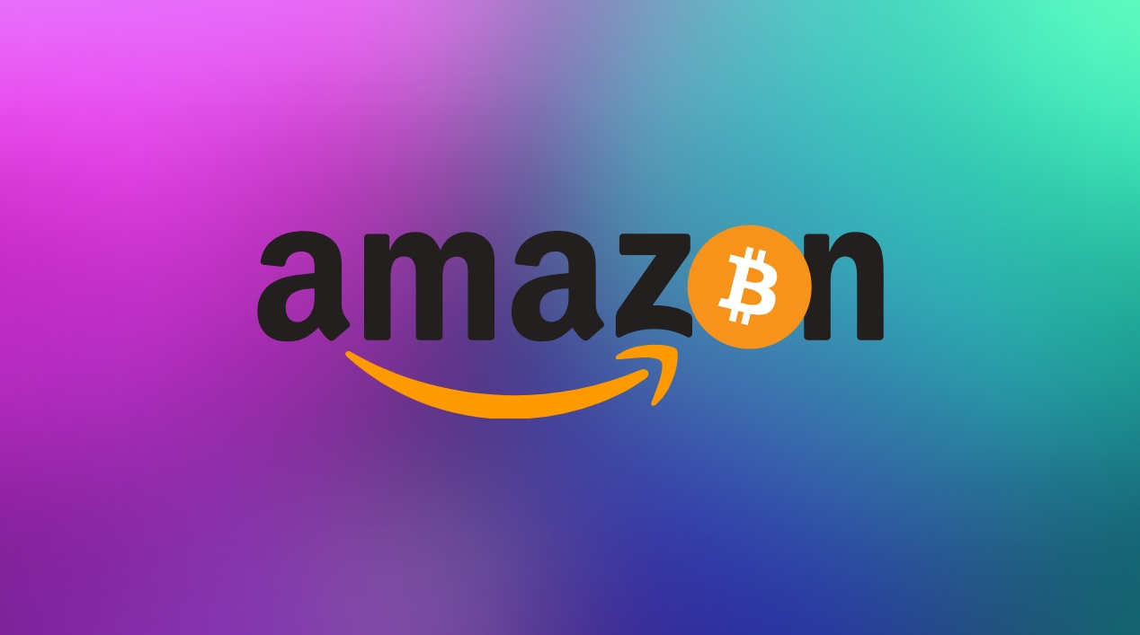 Amazon logo bitcoin