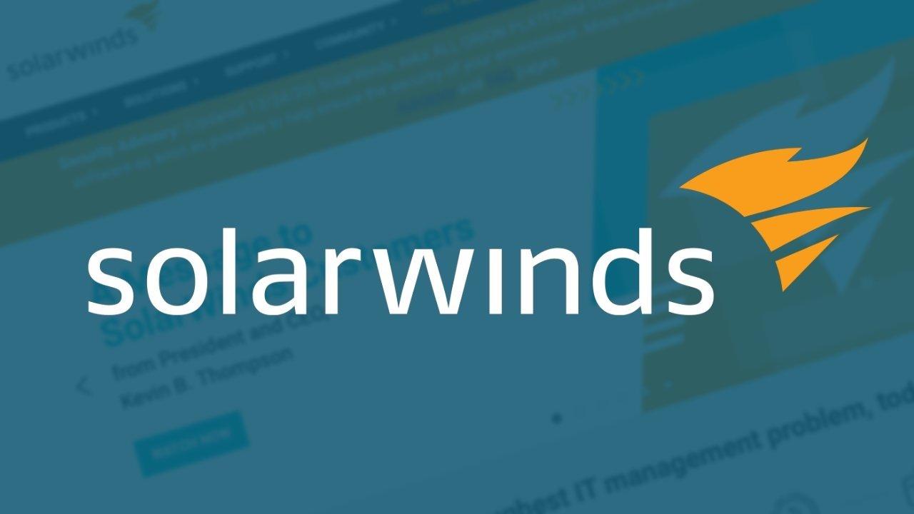 SolarWinds ataque malware