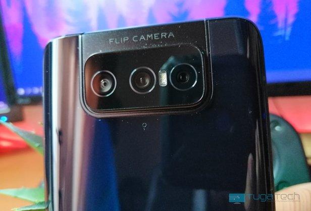câmara traseira zenfone 7 pro