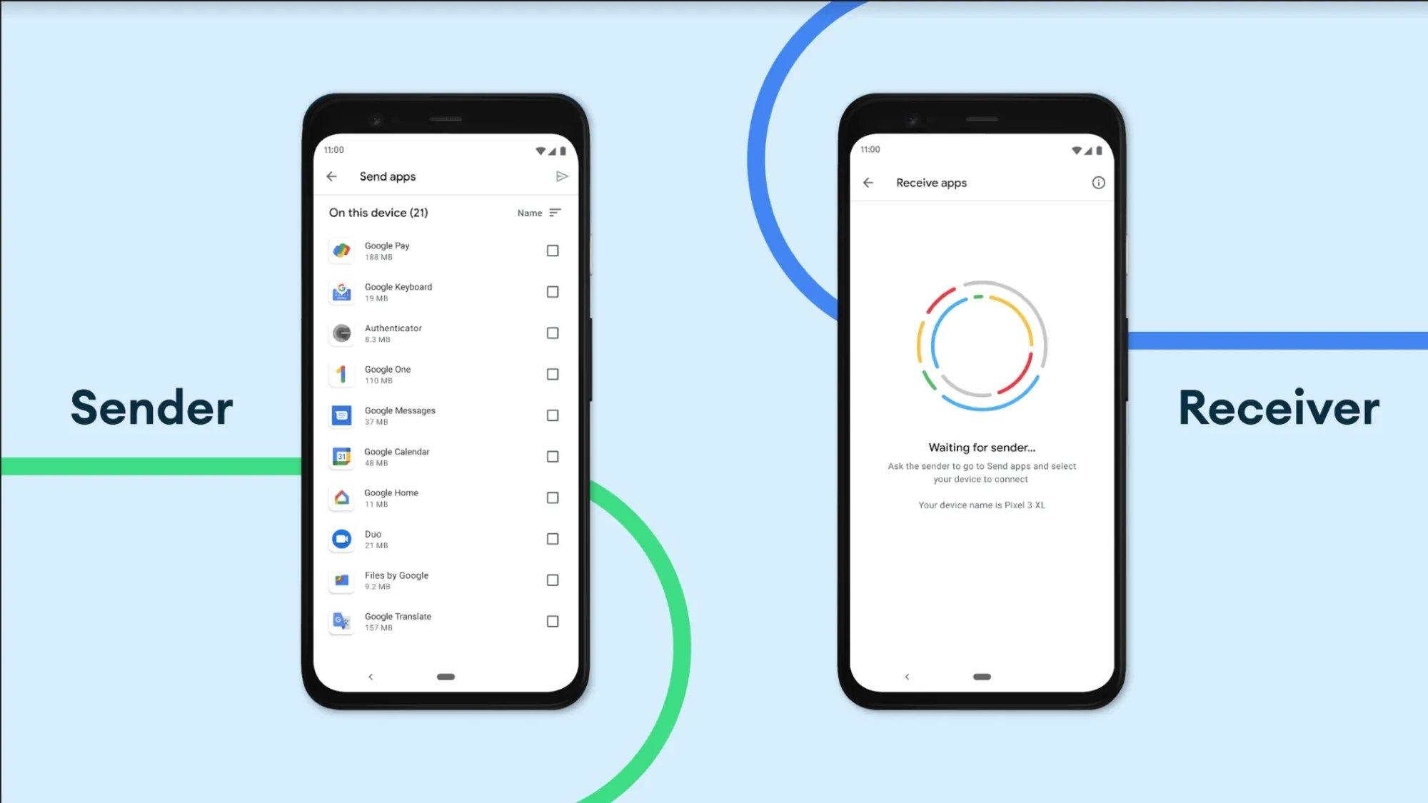 Google play store partilha de apps