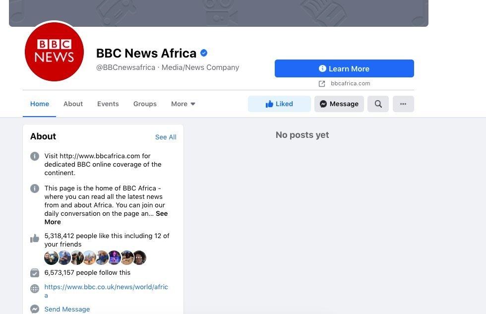 BBC pagina na austrália