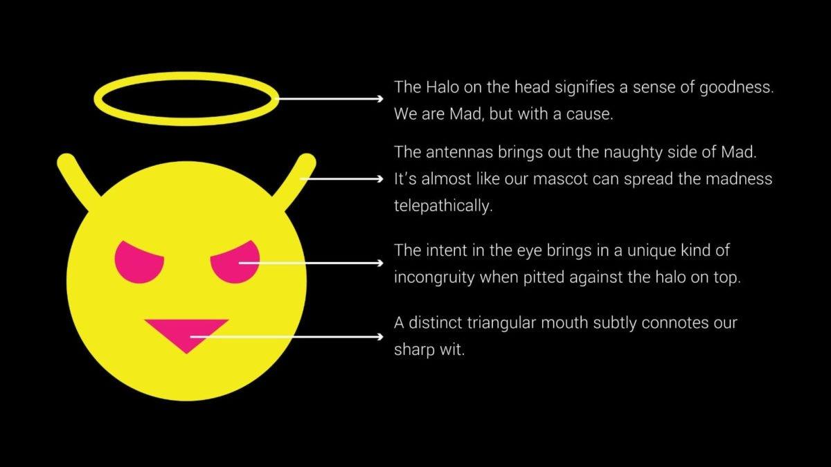 clarificação da mascote