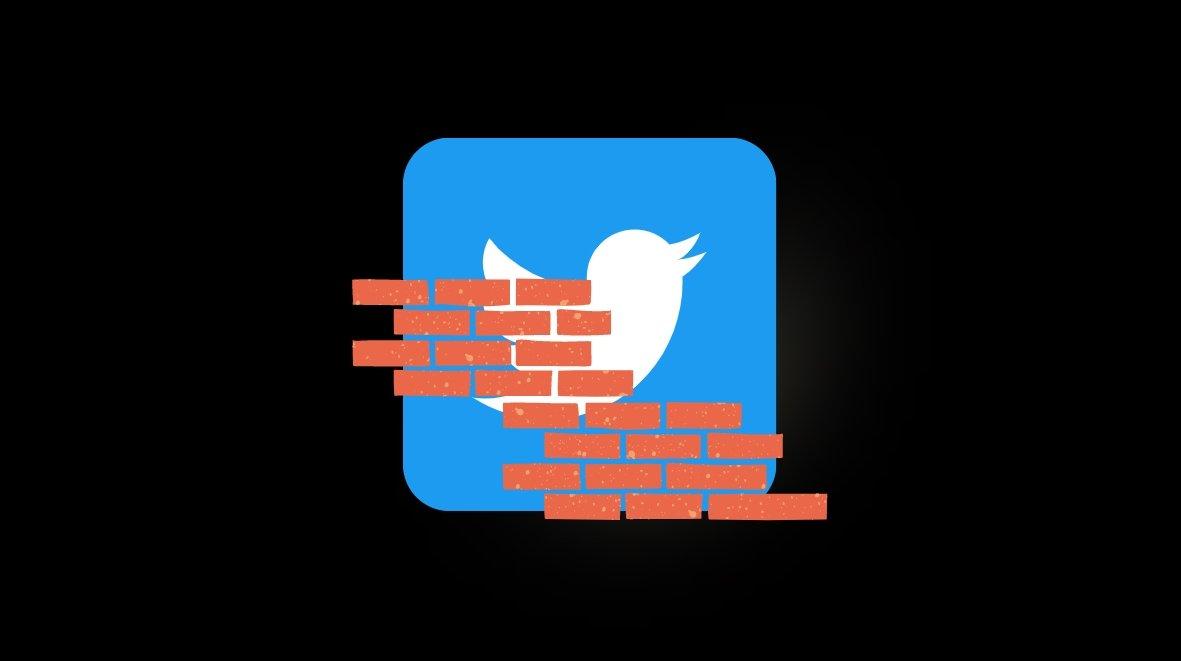 Twitter bloquear contas
