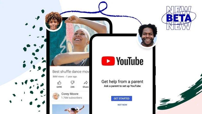 YouTube Kids controlo dados