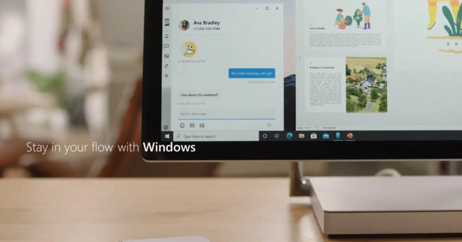 Windows 10 integração com smartphones