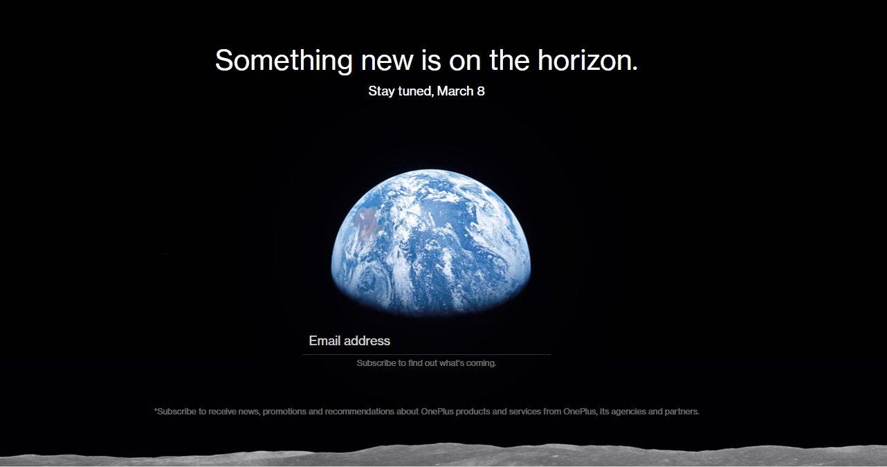 OnePlus evento março