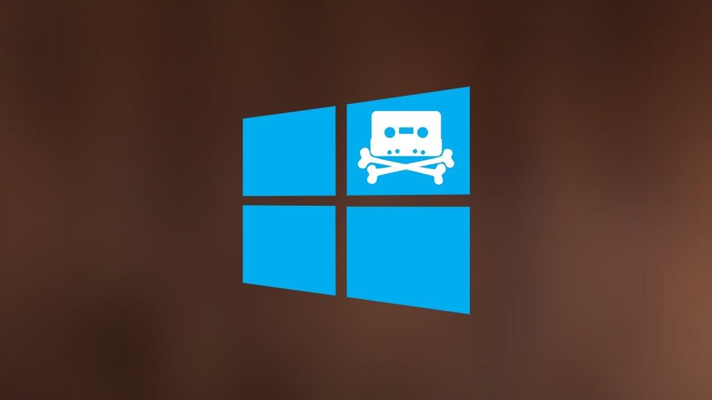 Windows piracy