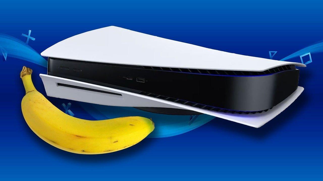 PS5 e banana