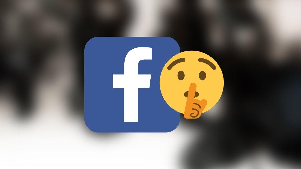 Facebook em silêncio