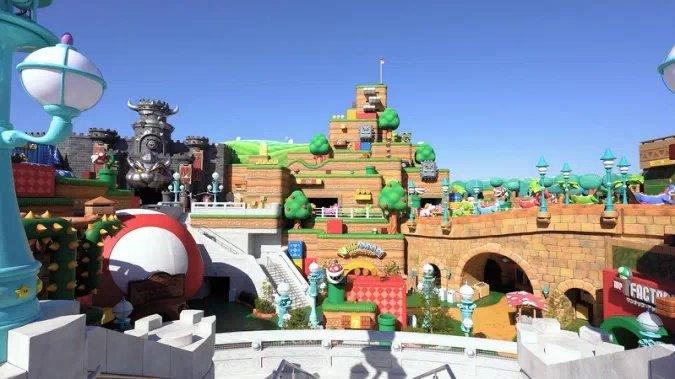 Super Nintendo World parque