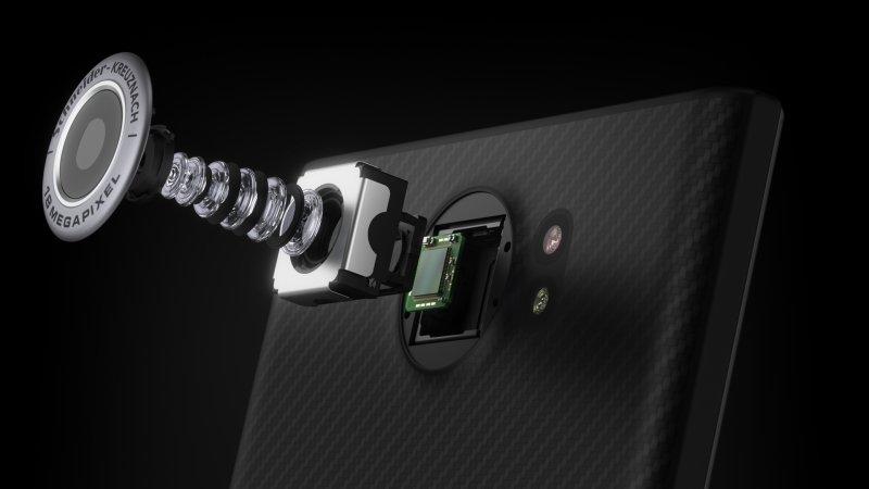 câmara blackberry priv