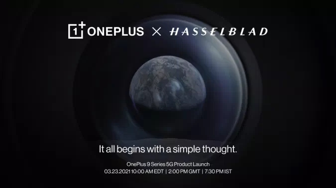 convite da OnePlus evento