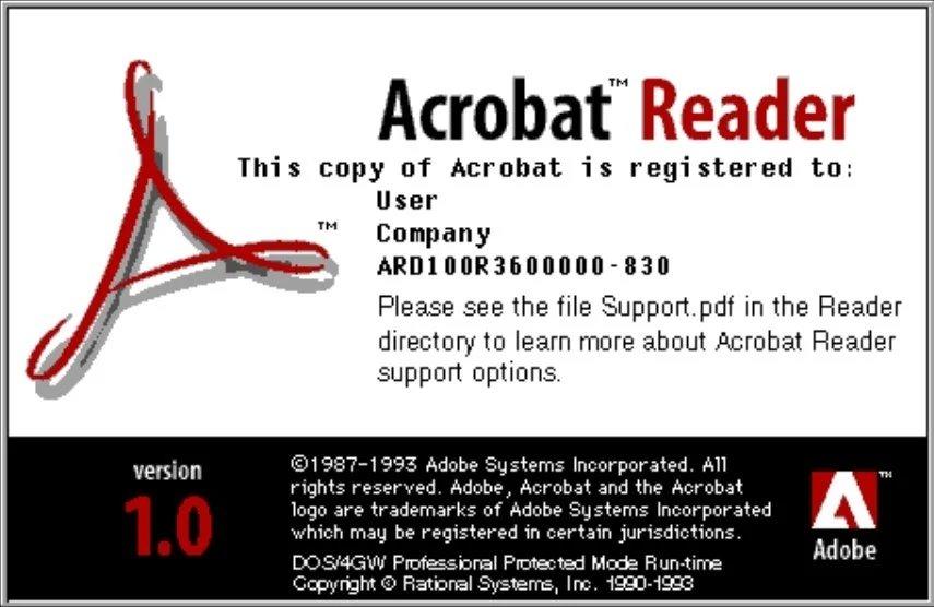Adobe Reader 1.0