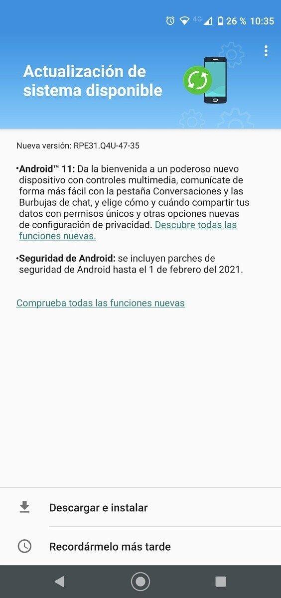 Motorola atualização Android 11