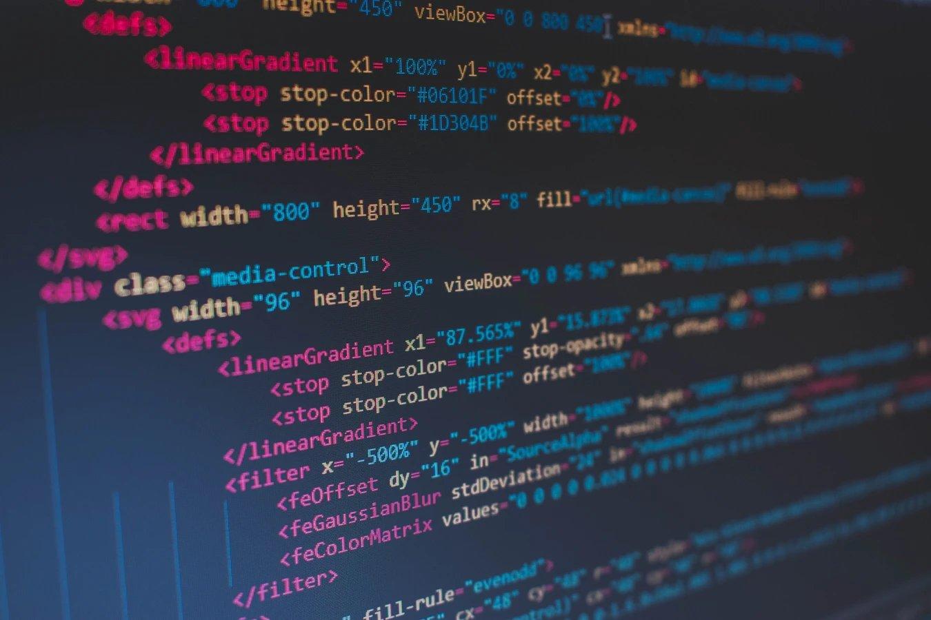 código em site