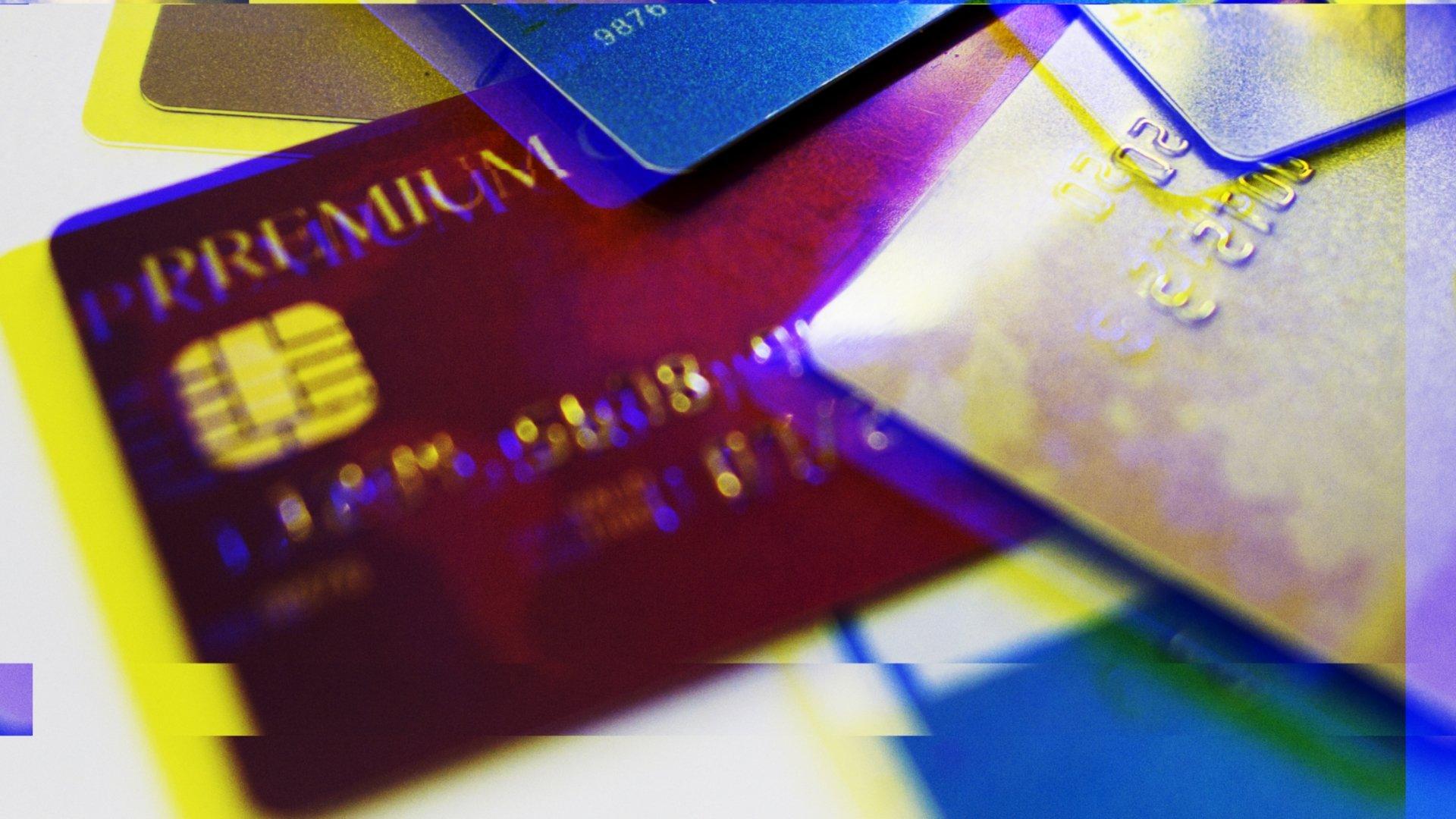 cartões de crédito roubados
