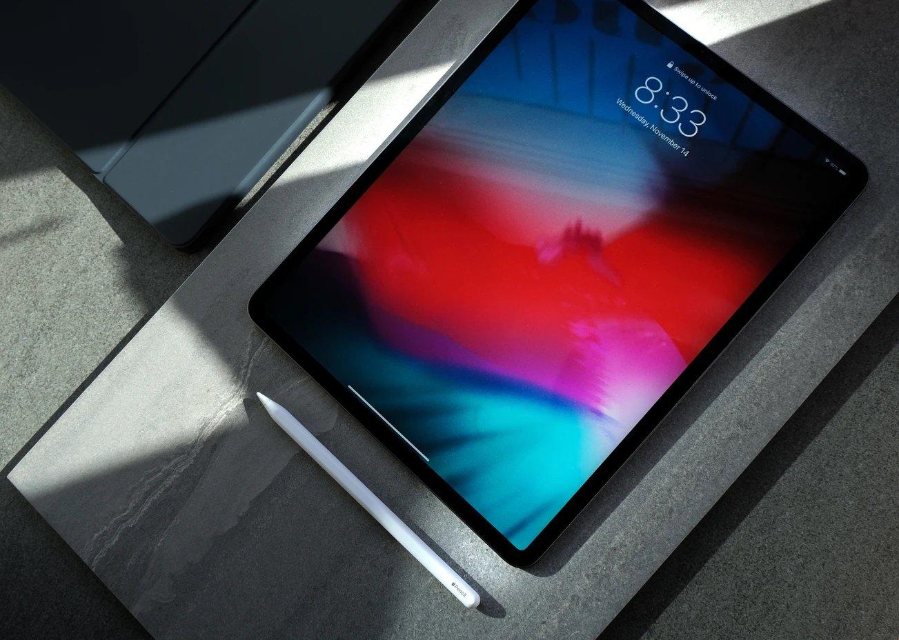 iPad ecrã