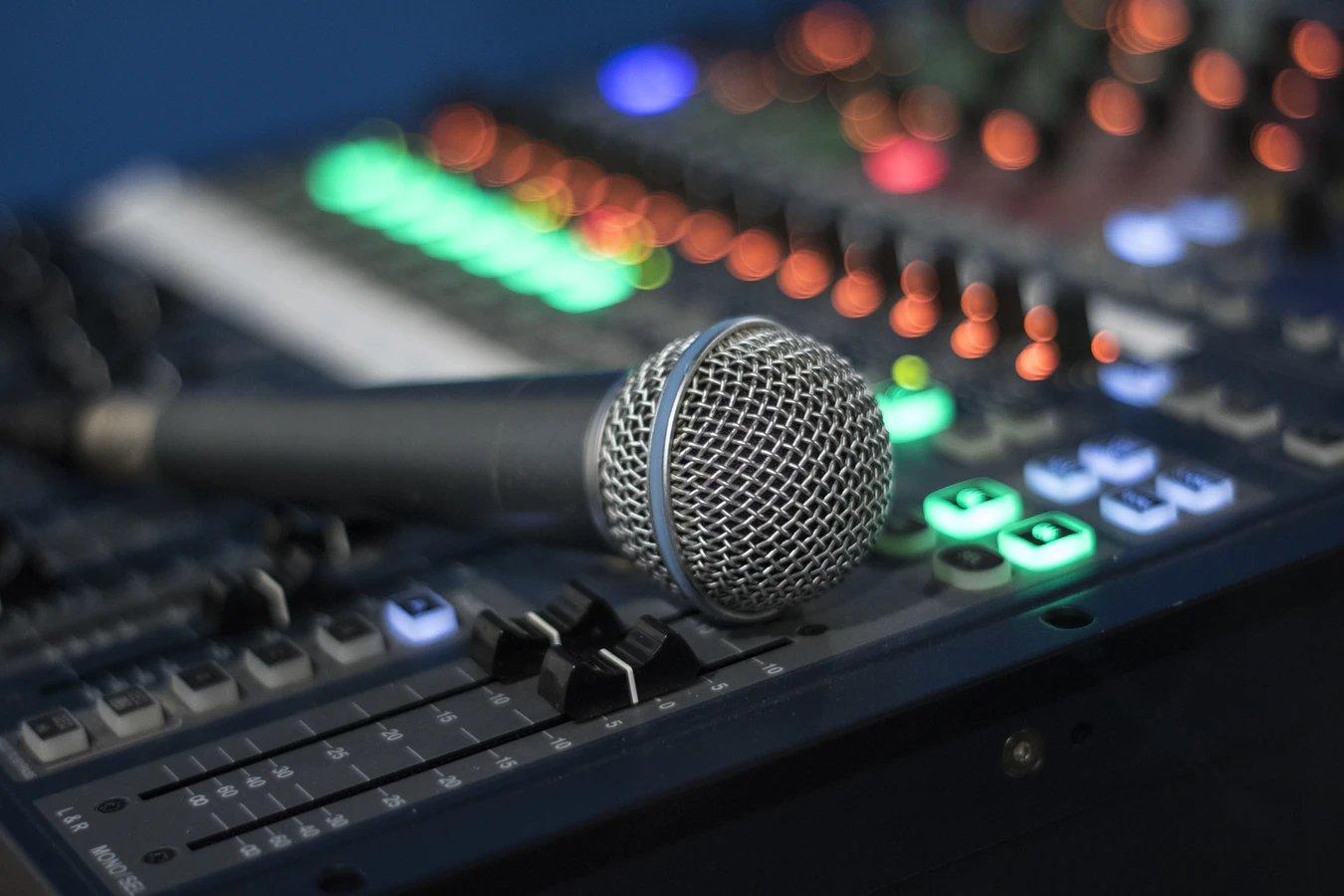 decibeis microfone