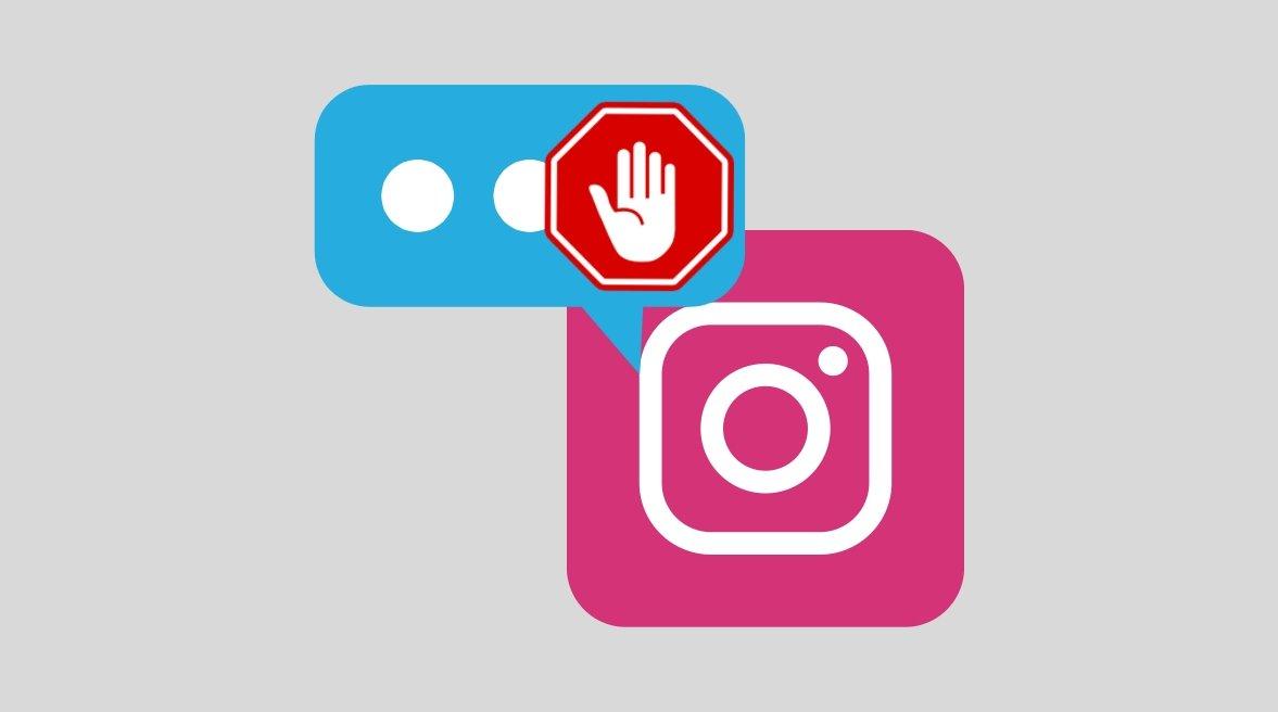 Instagram mensagens grupos spam