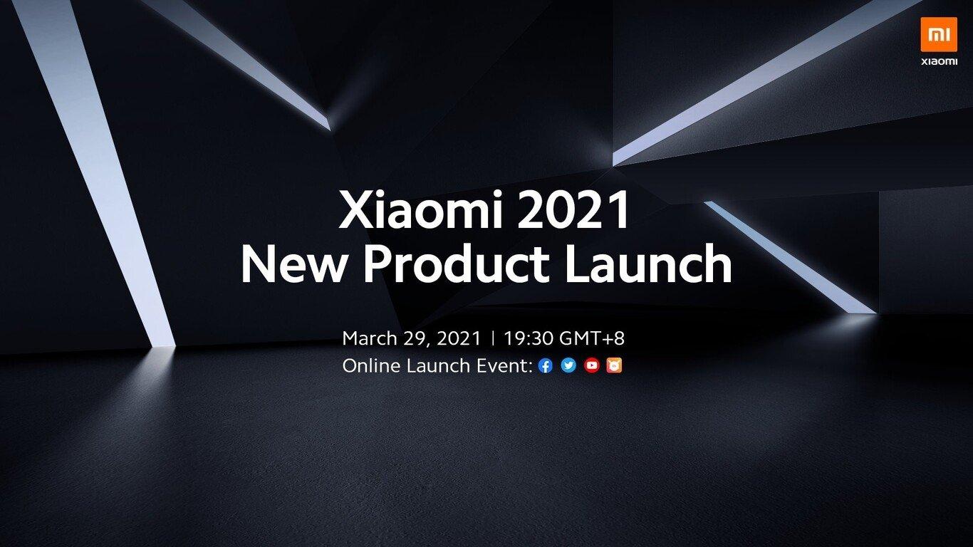 xiaomi convite para evento 29 de Março