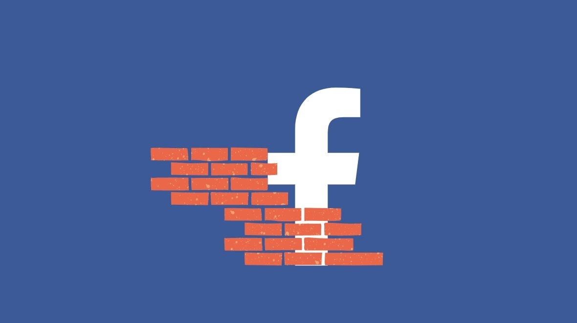 Facebook bloqueio contas