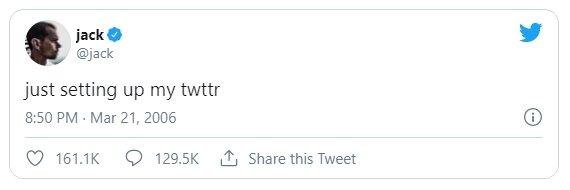 primeiro tweet do mundo